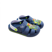 Babucha Authentic Games Grendene Azul/Branco/Verde