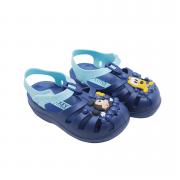 Chinelo Ipanema Luccas Neto Azul/Azul/Amarelo