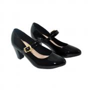 Sapato Modare Preto Verniz Premium