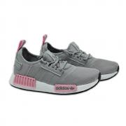 Tênis Adidas Cinza e Rosa