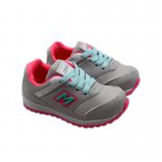 Tênis Gelo/Pink Mini Pé