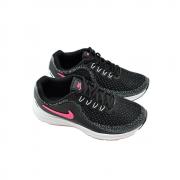 Tênis Nike Preto/Branco/Rosa