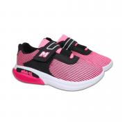 Tênis Preto/Pink Mini Pé
