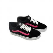 Tênis Vans Preto/Pink