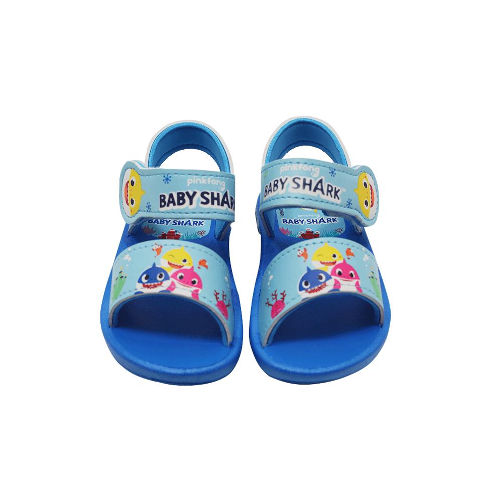 Sandália Grendene Baby Shark Azul/Azul