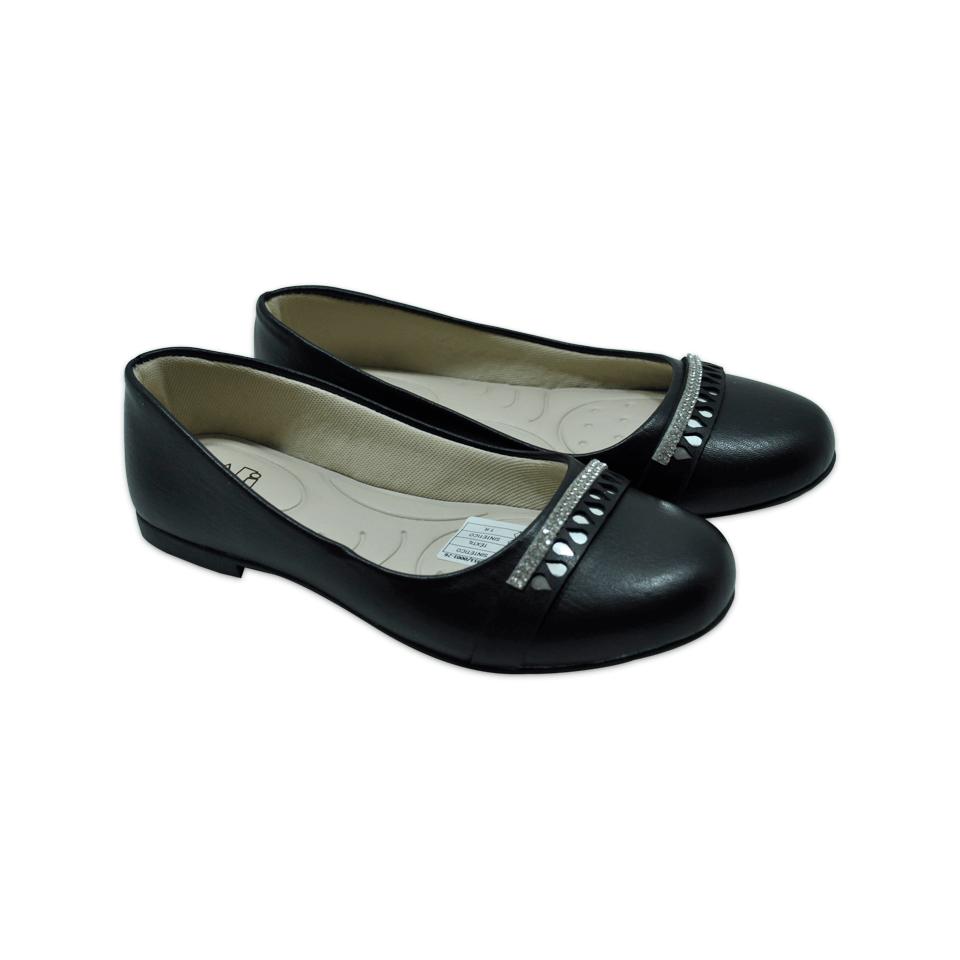 Sapatilha Meli Preto Fashion