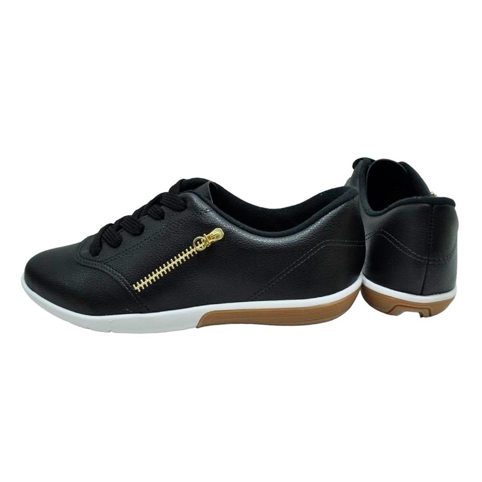 Sapato Moleca Lapa Neo Preto