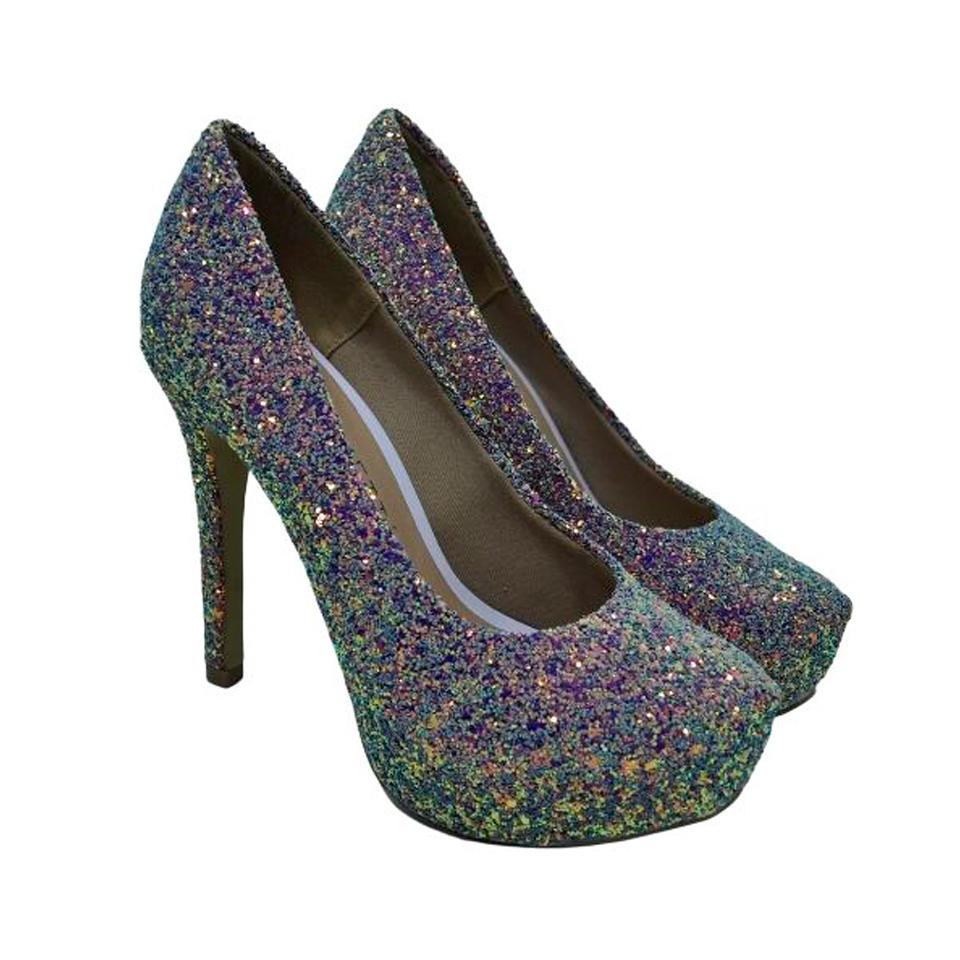 Sapato Variettá Azul Gliter Furtacor