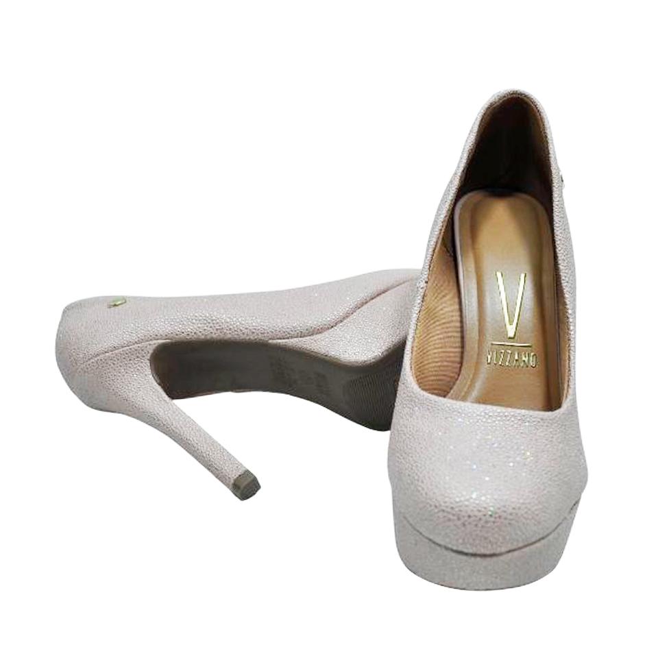 Sapato Vizzano Napa Arraia Rosa Holografica