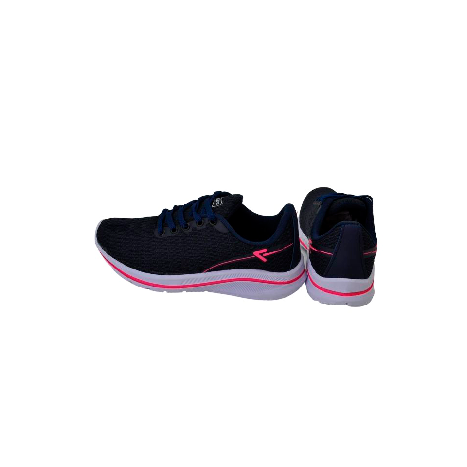 Tênis Box 200 Marinho/Pink