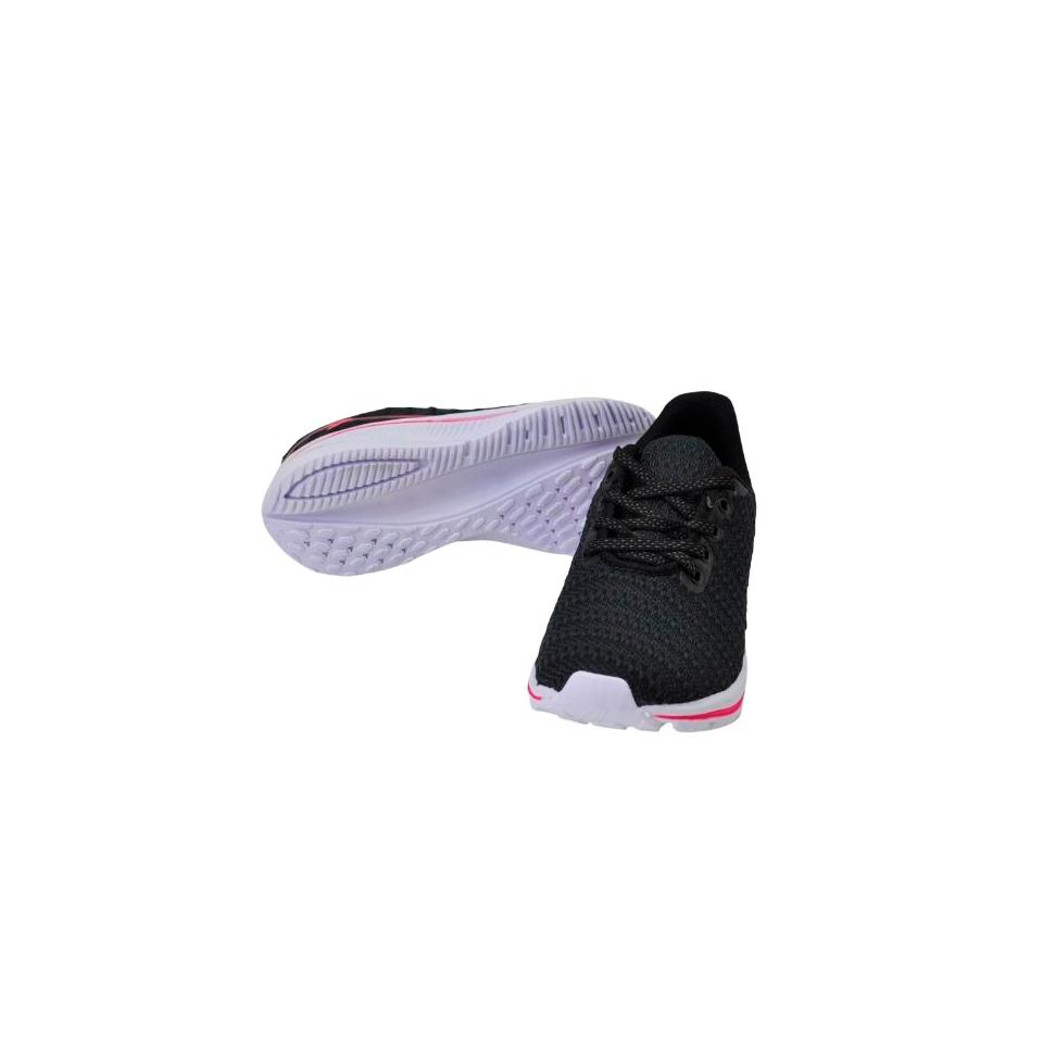 Tênis Box 200 Preto/Pink