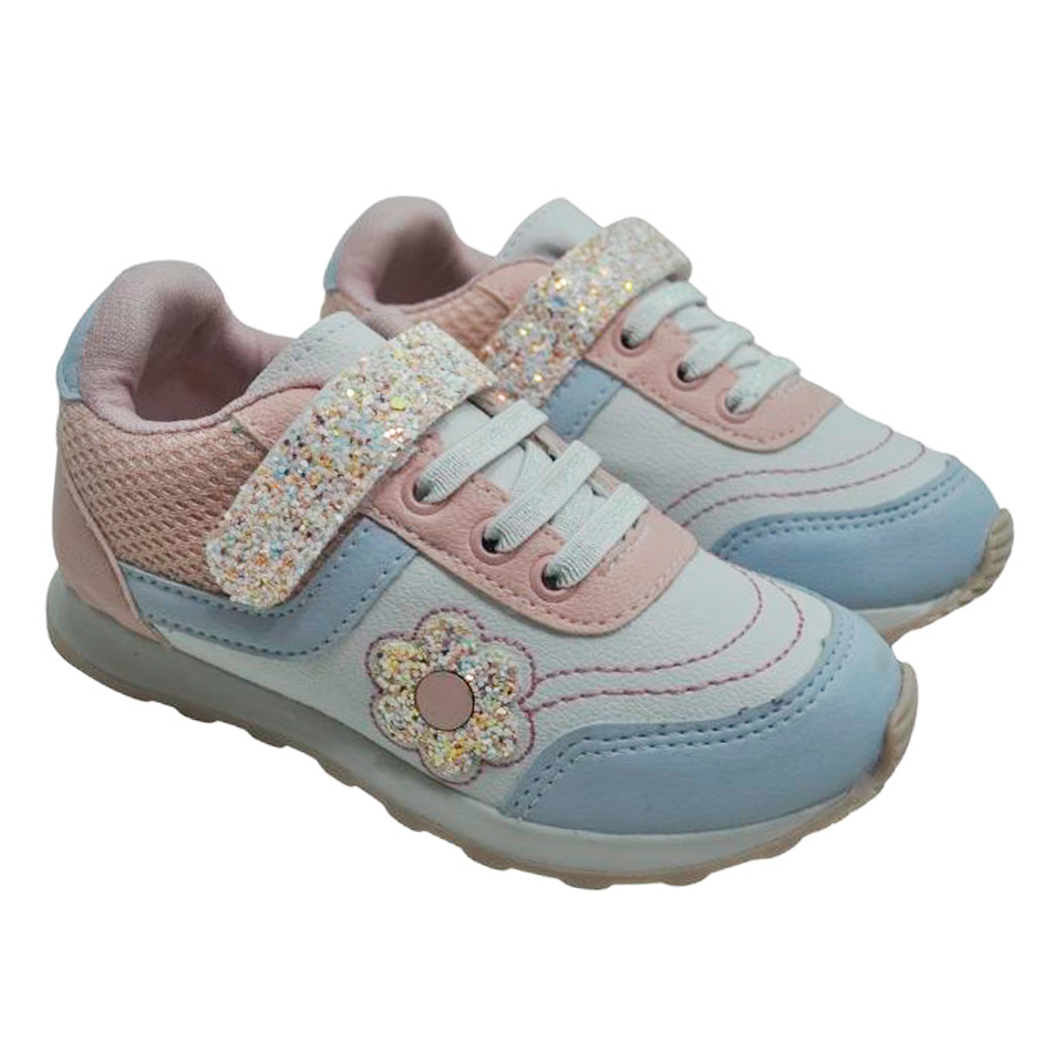 Tênis Camin Classic Feminino Carinho Azul Bebe/Branco