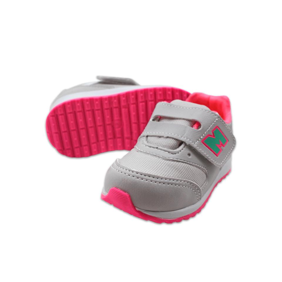 Tênis Mini Pé Gelo/Pink