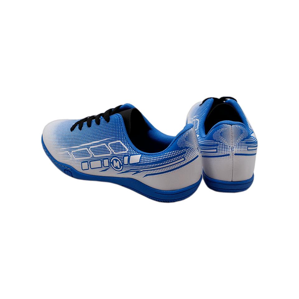 Tênis Molekinho Napa Lisa Neo Branco/Azul