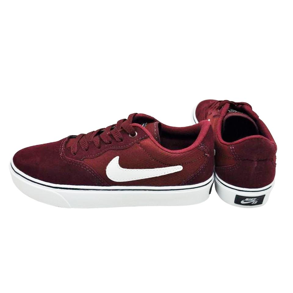 Tênis Nike Bordo-Branco