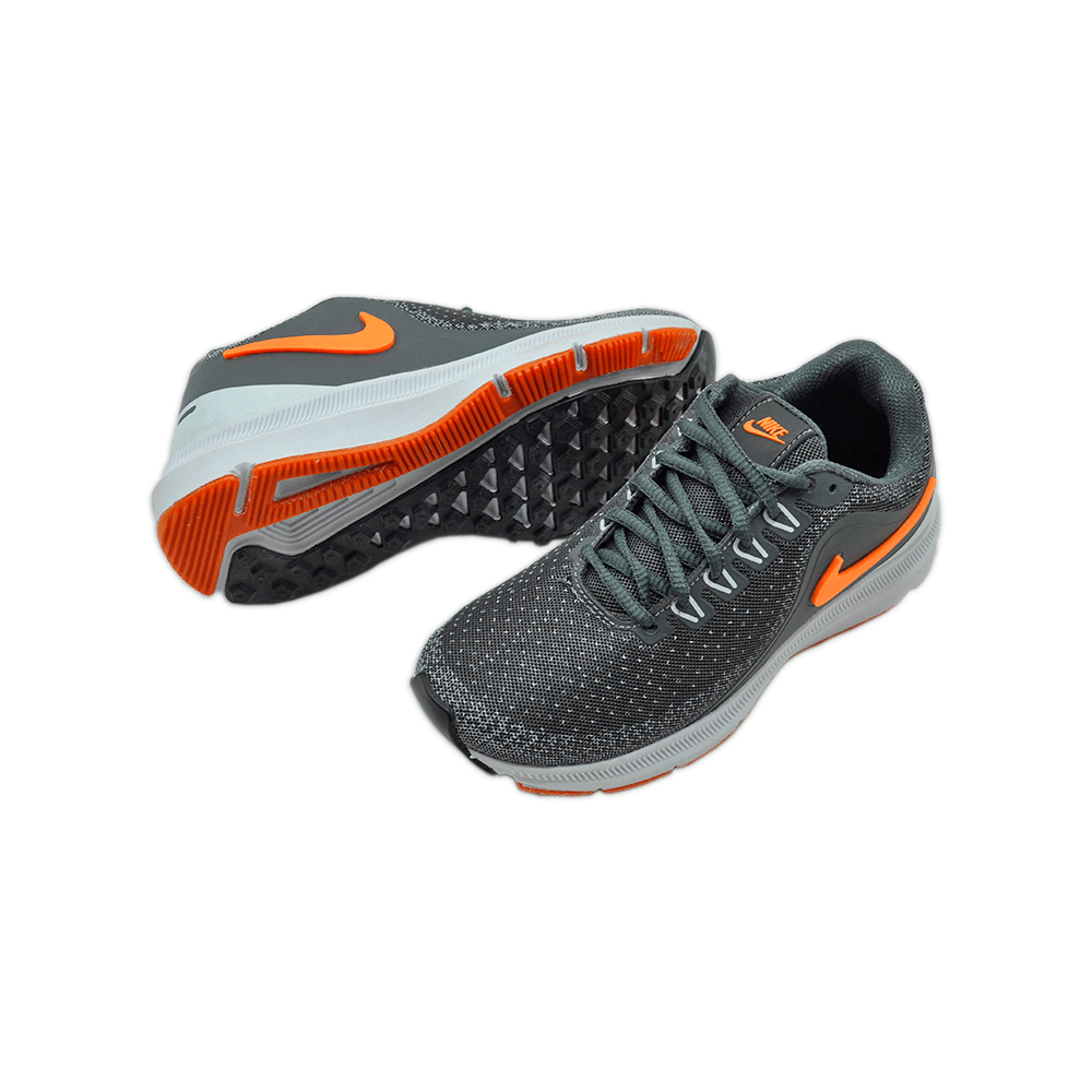 Tênis Nike Cinza/Branco/Laranja