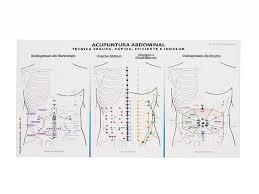Mapa Acupuntura Abdominal - Técnica Segura, Rápida, Eficiente e Indolor - A4