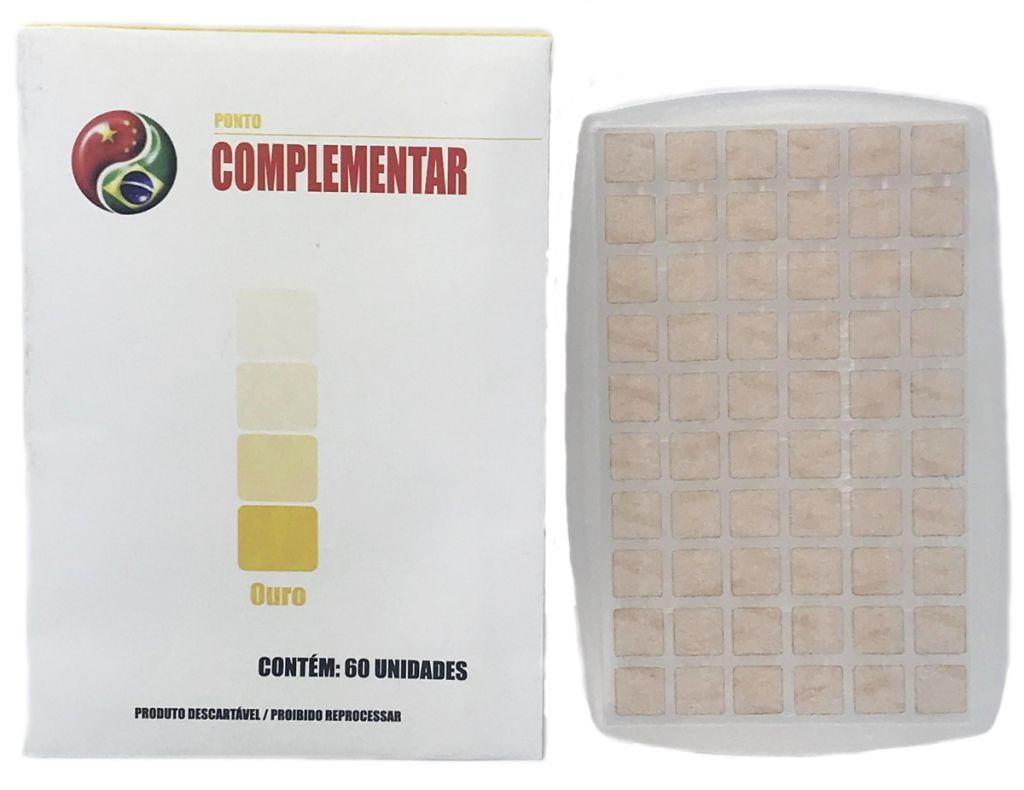 PONTO AURICULAR OURO COMPLEMENTAR CX C/50