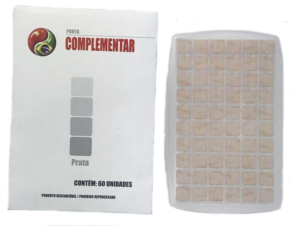 PONTO AURICULAR PRATA COMPLEMENTAR CX C/50