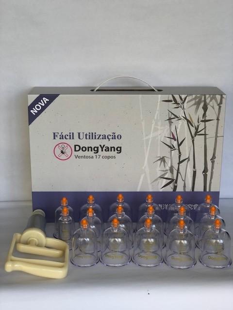 Ventosa kit c/ 17 copos DongYang