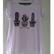 Tshirt Plants Bordada