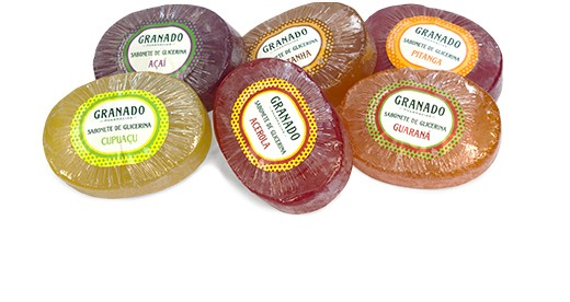 Kit Sabonetes Frutas Brasileiras - 6 Sabonetes de 90g - Granado