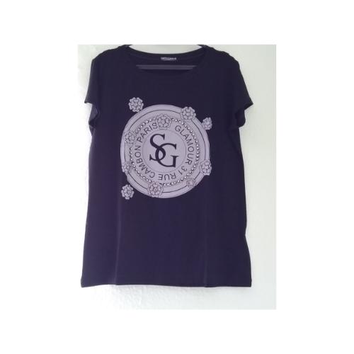 Tshirt Glamour Bordada