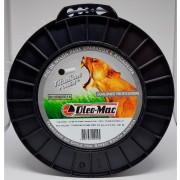 Bobina fio de nylon Titanium Redondo 3 0mm  peso 2 2KG com 282 mts