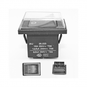 Interruptor para Aspirador de pó e Extratora IPC 16A 250V Original
