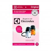 Kit Saco Descartável para Aspiradores de pó Electrolux A20, A20L, A20S, GT3000 *Modelos Antigos* 3un Original