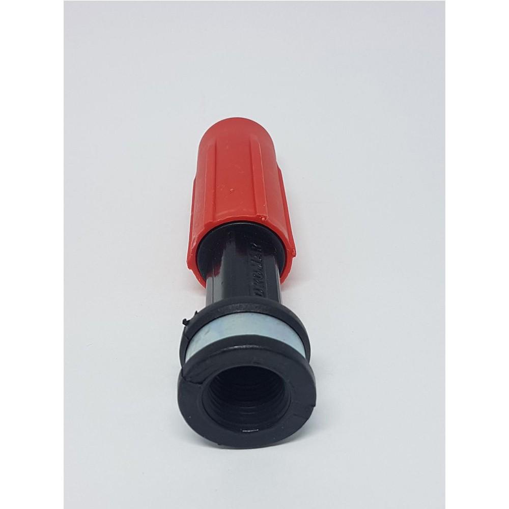 Bico Esguicho Vermelho 22mm regulável Lavad Hidromar BH1400