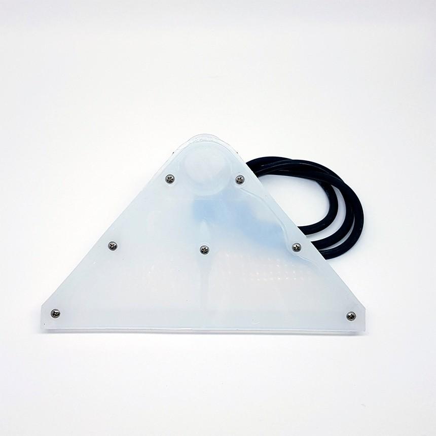 Bico Grande tipo rodo transparente 36mm para extratoras IPC
