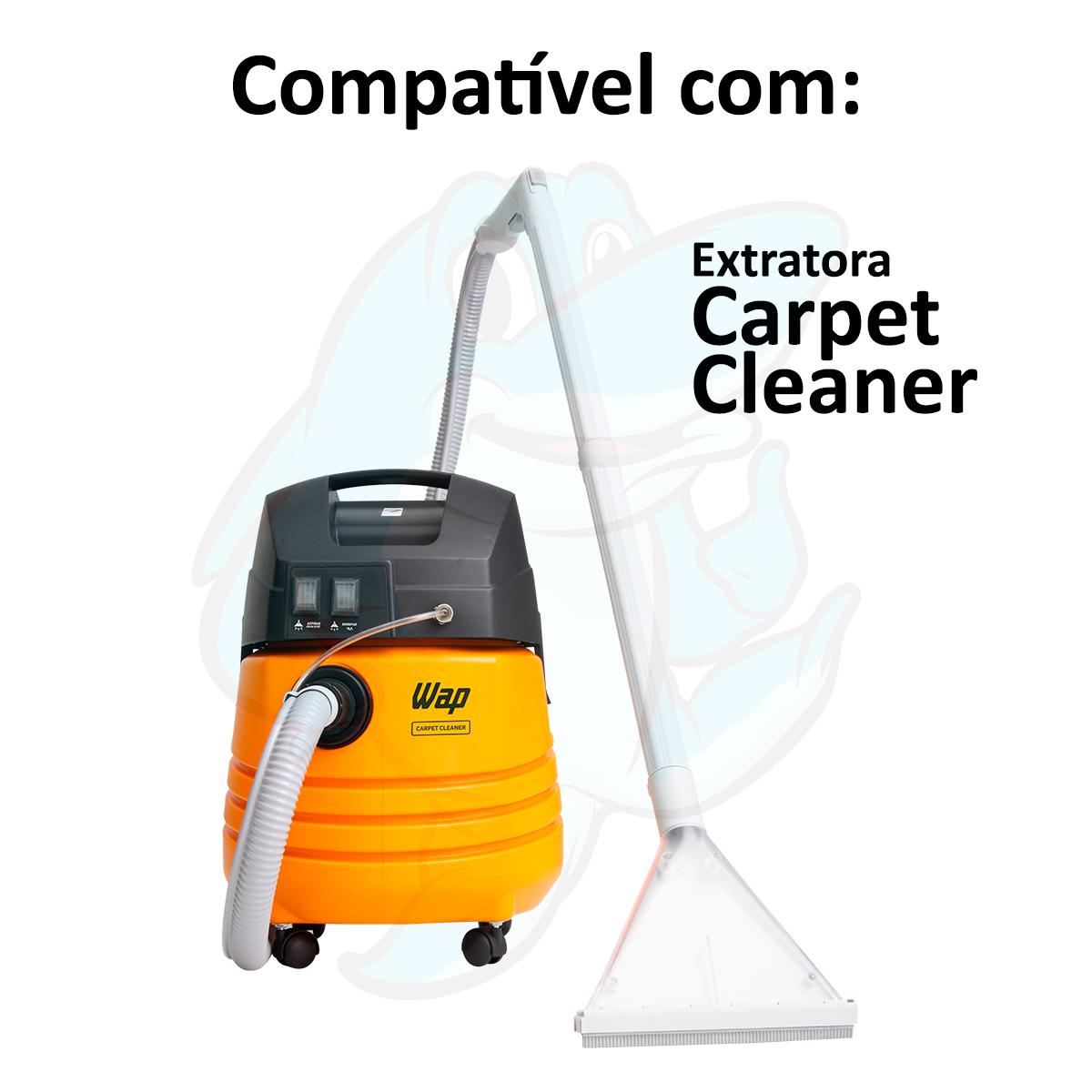 Bico para Extratora Wap Carpet Cleaner grande transparente 36mm Original