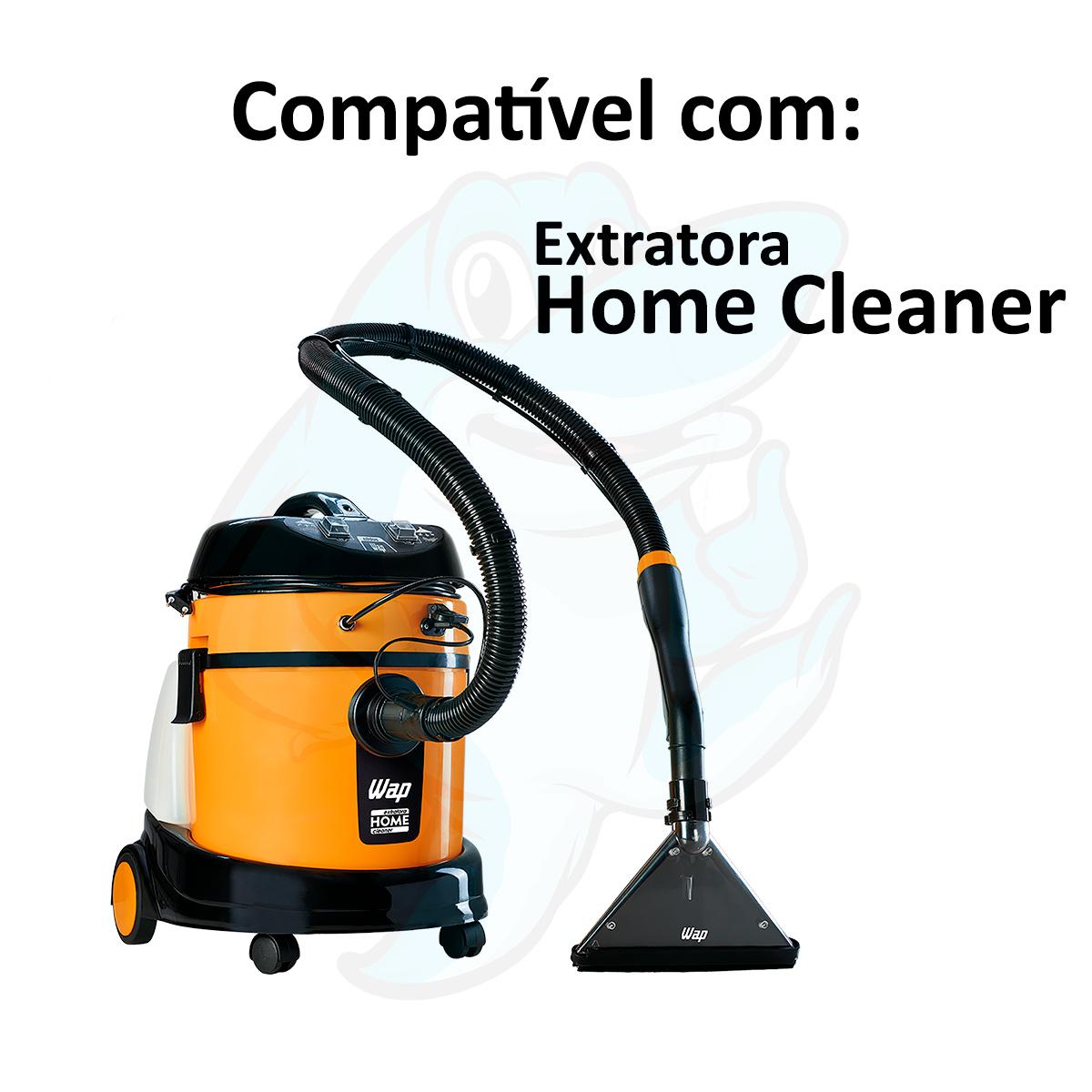 Bico Pequeno Preto 36mm para Extratora Wap Home Cleaner