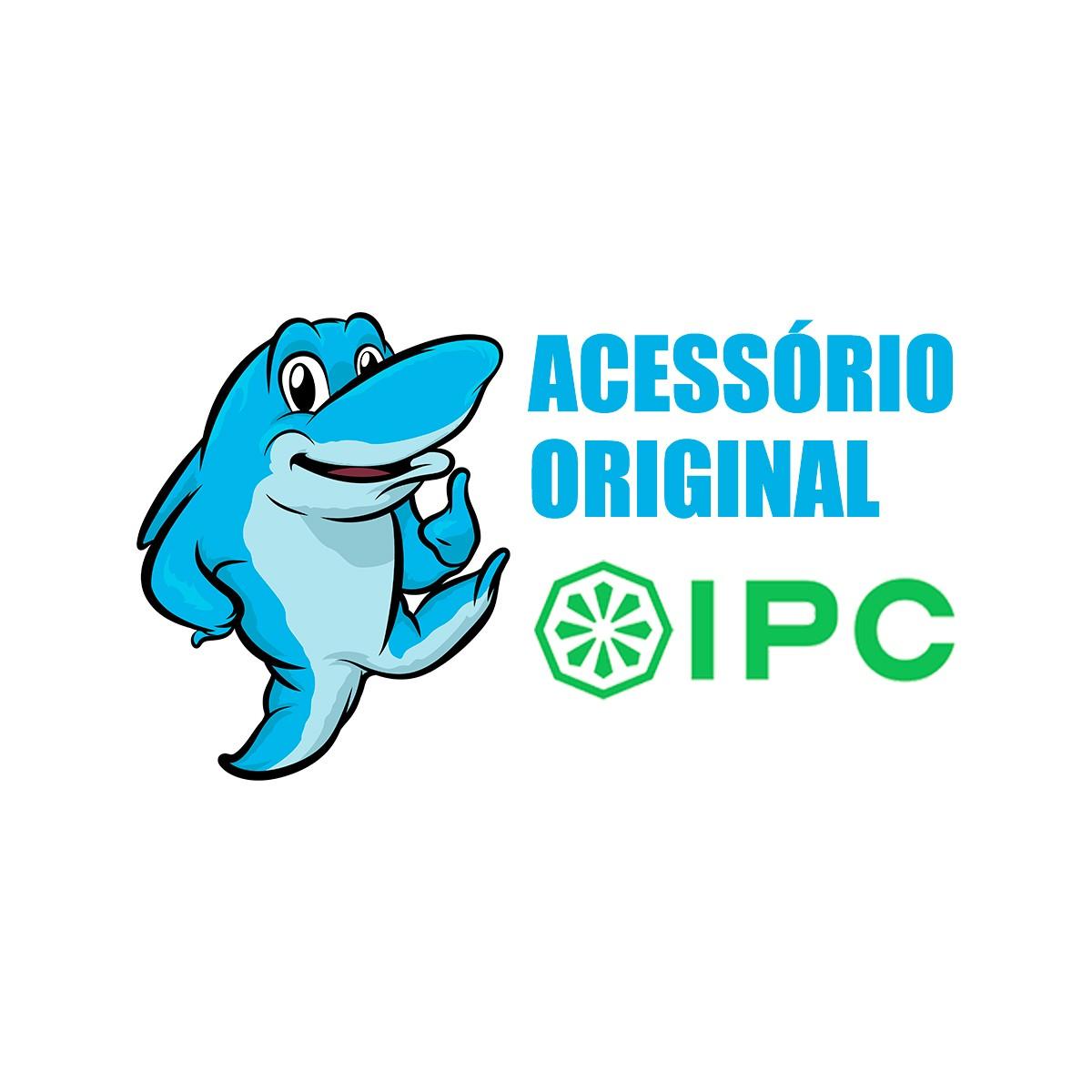 Bico Redondo com Cerdas 60mm Original IPC Para Aspiradores de pó