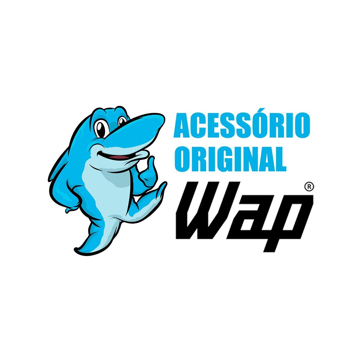 Bico tipo Rodo Encaixe 36mm Original Wap para Aspiradores