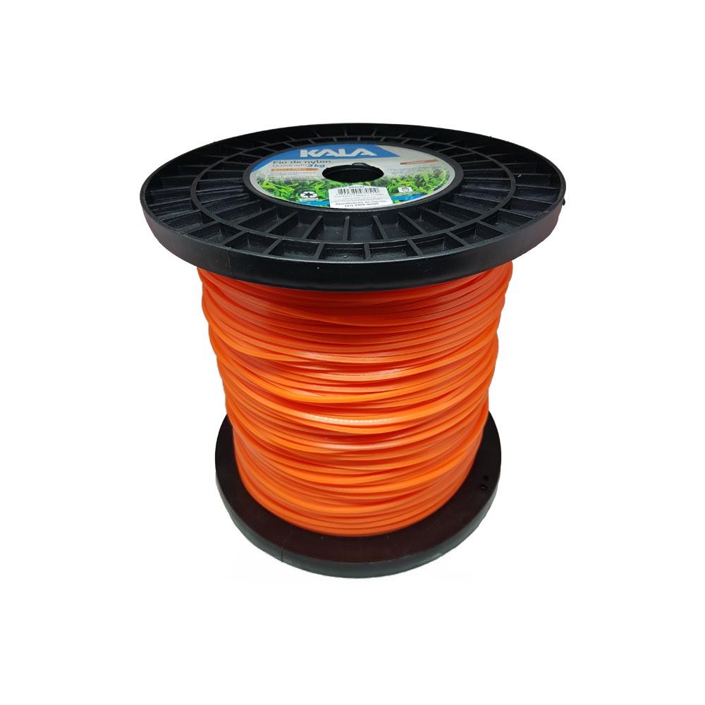 Bobina de fio de nylon 3 00mm quadrado 3kg 339mts