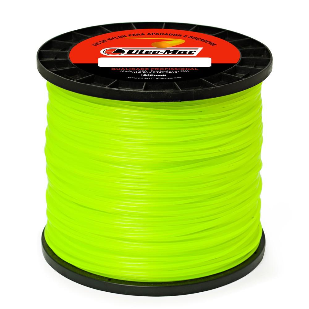 Bobina Fio nylon Redondo 3 0mm com 2 2KG  SF00000005