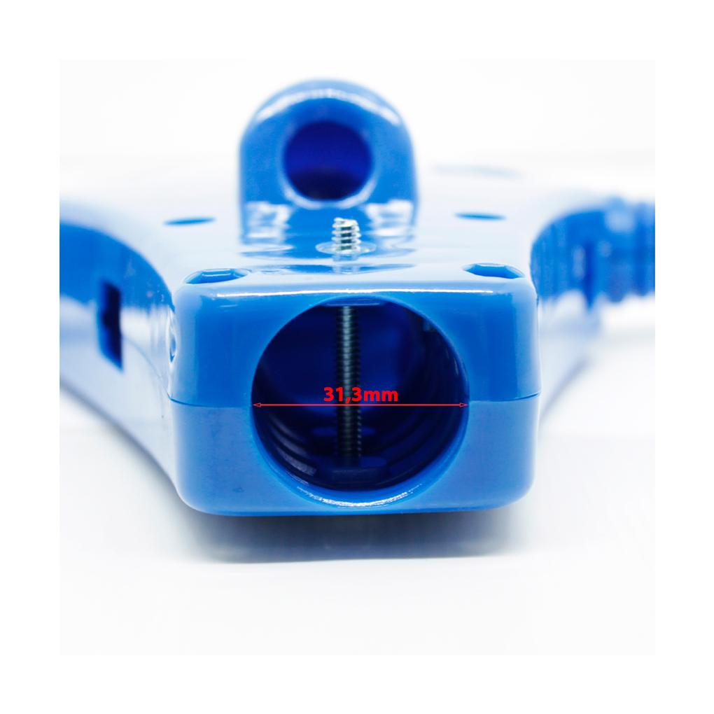 Caixa Elétrica para Enceradeira Cleaner CL300, CL350, CL400, CL500 Tubo 31,3mm