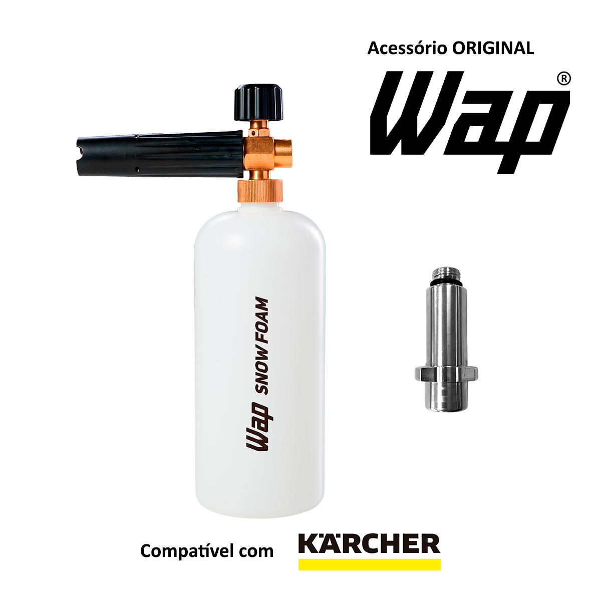 Snow Foam para Lavadora de Alta Pressão Karcher K1, K2, K3, K4 e K5 - Original Wap