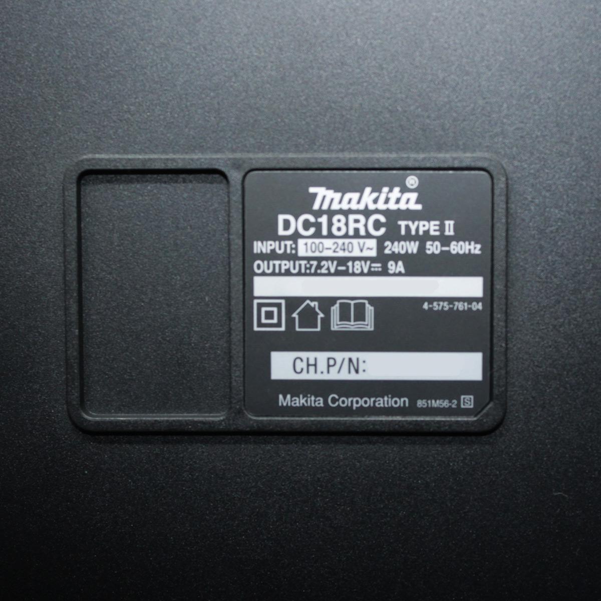 Carregador de Bateria 18v 14.4V íons Makita DC18RC Bivolt 127v-220v