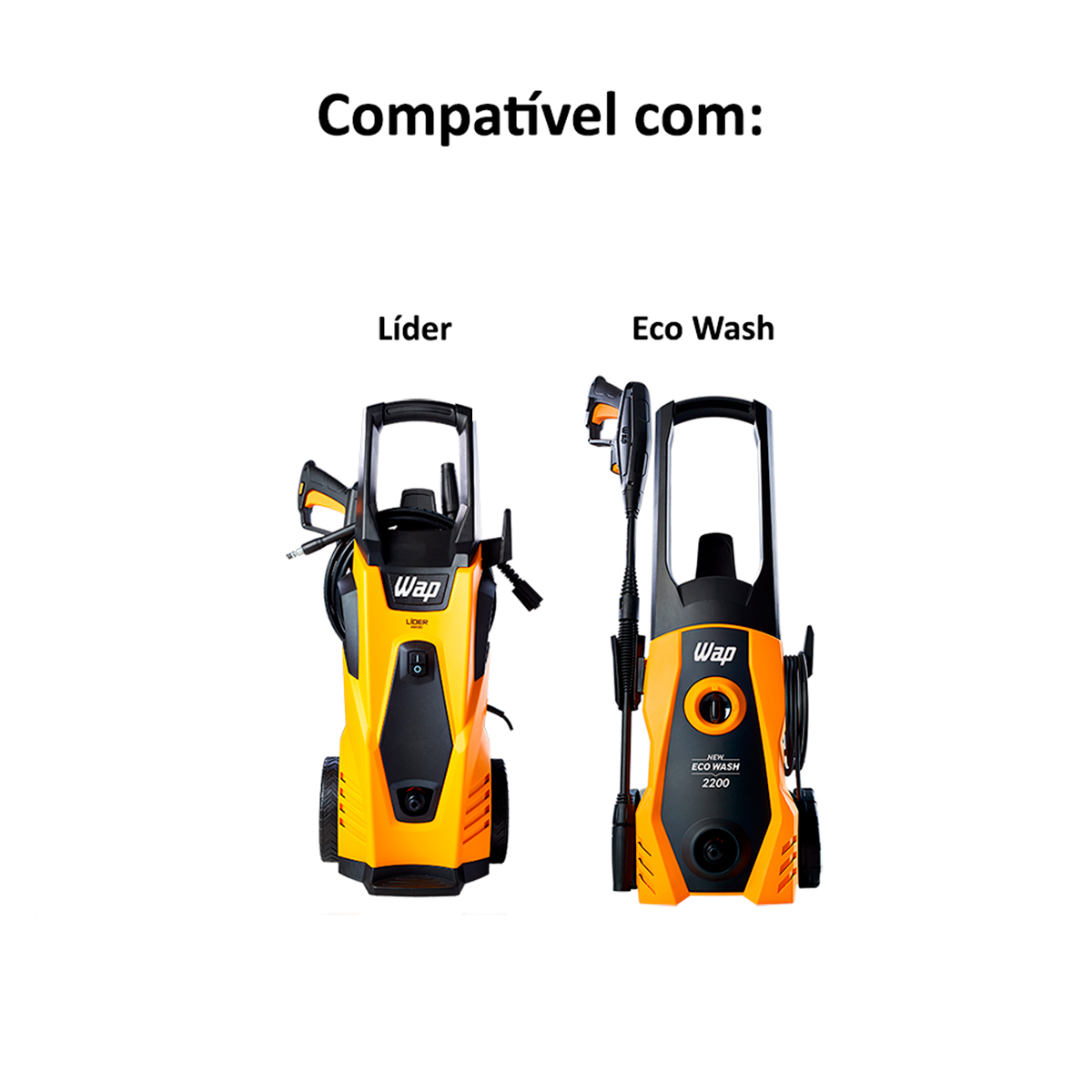 Conjunto Stop Total com By Pass Original Wap para lavadoras Lider e New Eco Wash
