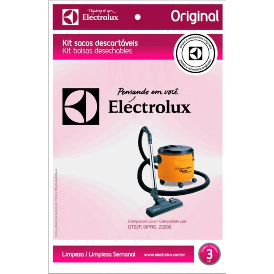 Kit 03un Saco descartável Original Electrolux GT2200