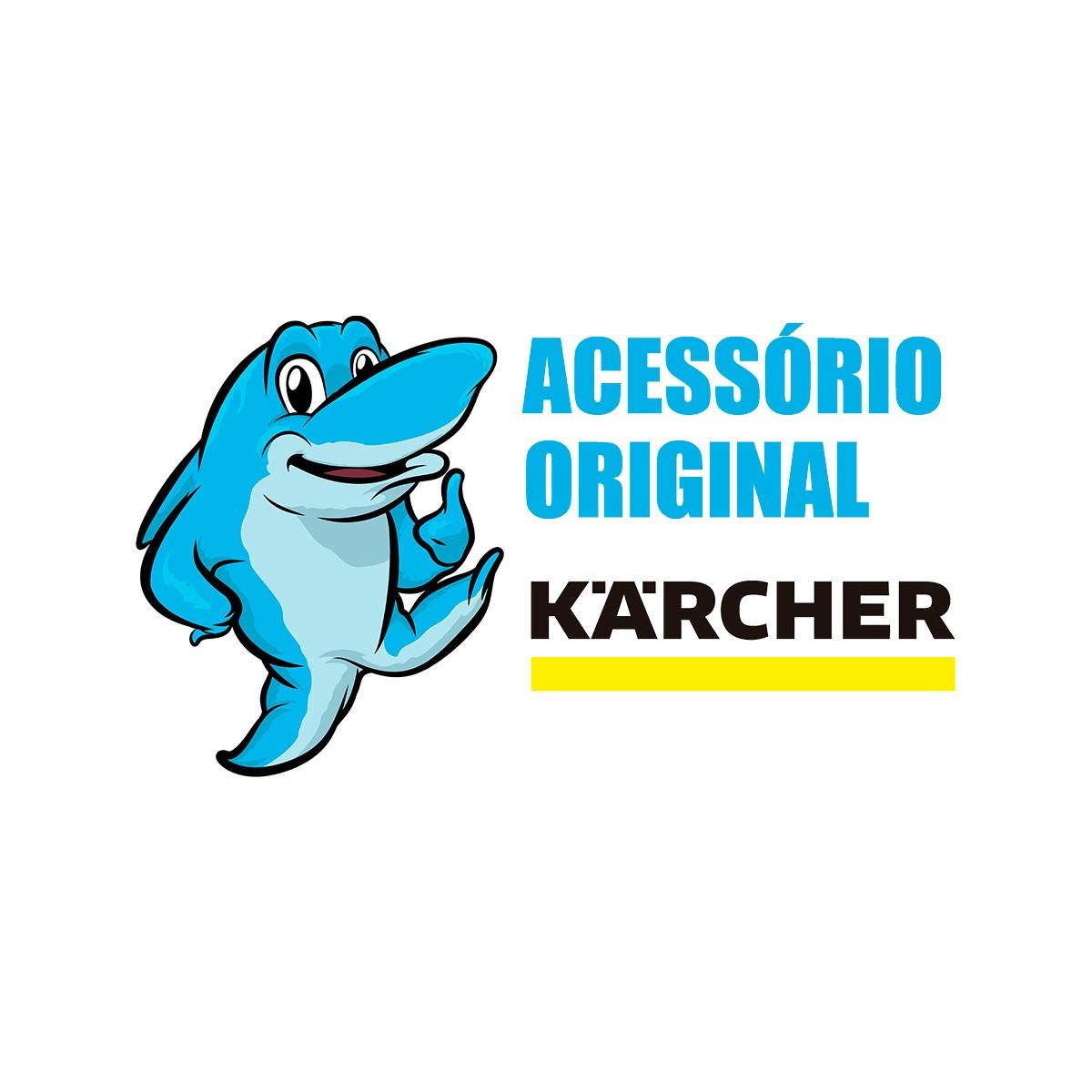 Kit 03un Saco descartável Original Karcher Aspirador A2003  A2004  A2114