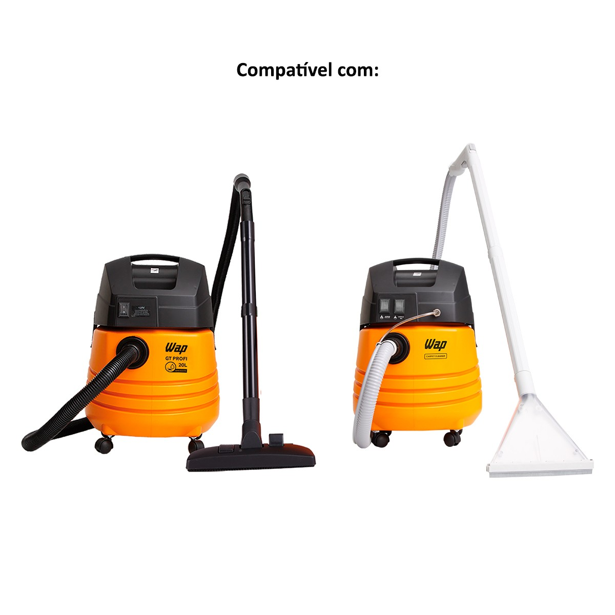 Kit Gaiola e Boia para Aspirador Wap GT Profi, Turbo 25, Turbo 1600, Gt, Gt Prof 20, Turbo 2002 e Extratora Carpet Cleaner