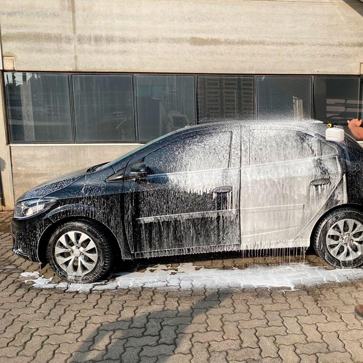 Kit Mangueira, Gatilho, bico e Snow Foam para Lavadoras Lavor Original
