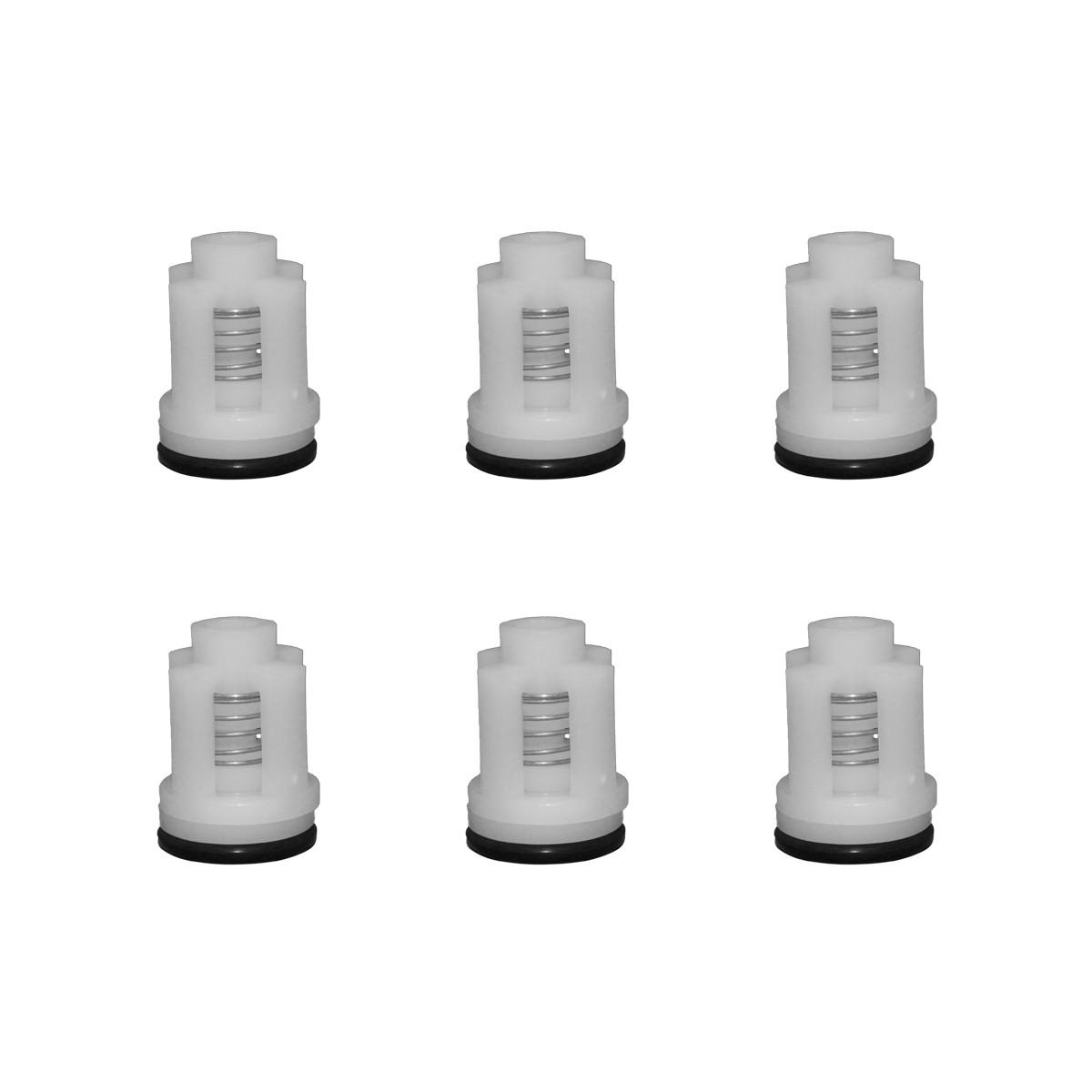 Kit Válvulas para Lavadora Wap Premium, Super, Top, Bravo 6pçs Original
