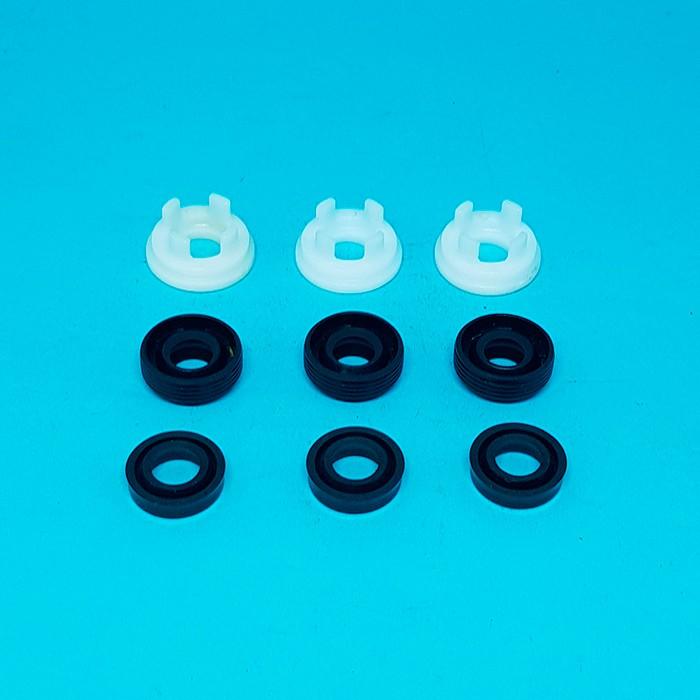 Kit vedação 9pcs (Gaxeta+retentor+apoio) Lavadora Wap Agil