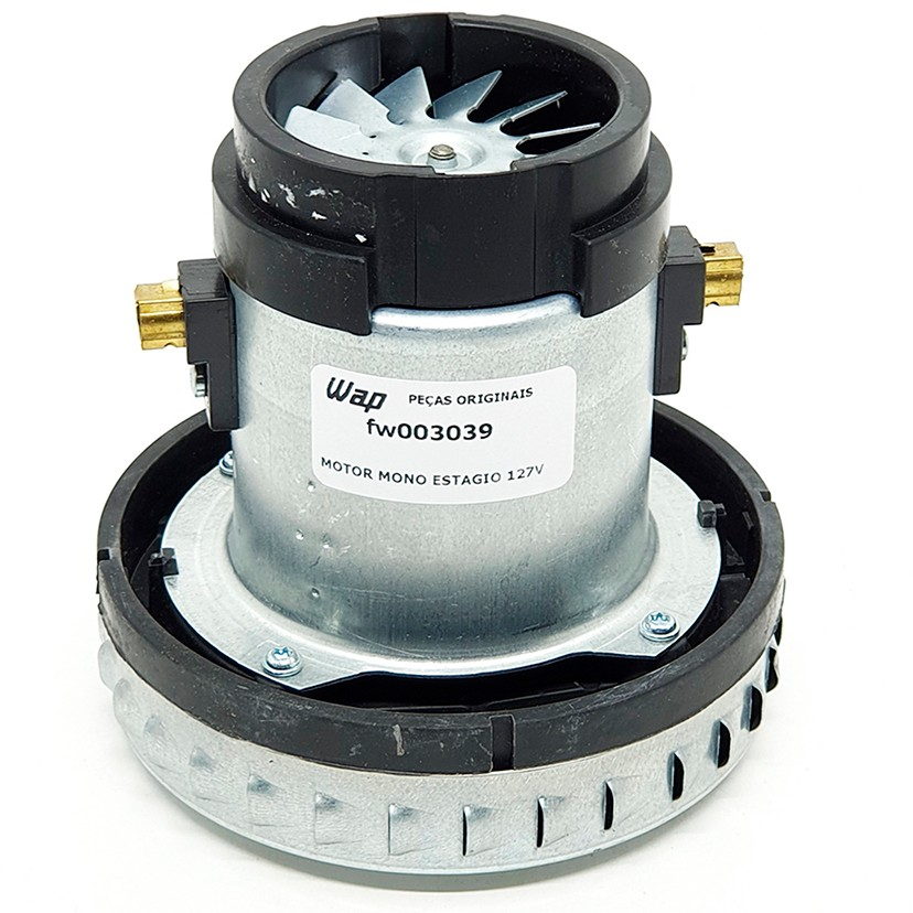 Motor para Aspirador Wap GT Profi 10, GT Profi 20, Hydro A 25, Aeroclean 15L. Turbo Inox Duo 127v Original