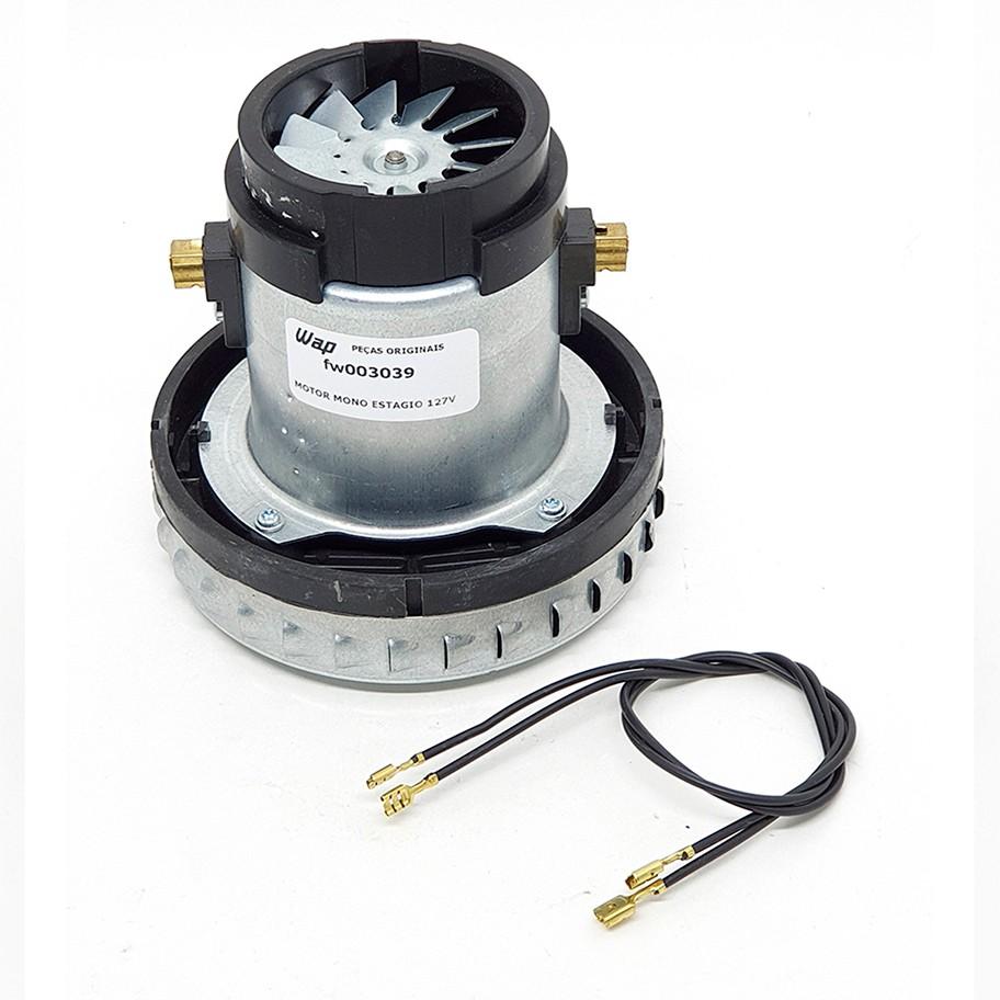 Motor de vácuo 110v 1400w Original Wap para Aspirador de pó GTPROF10 GTPROF20